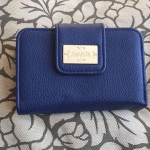 Nanette Lepore medium NWOT Navy Wallet